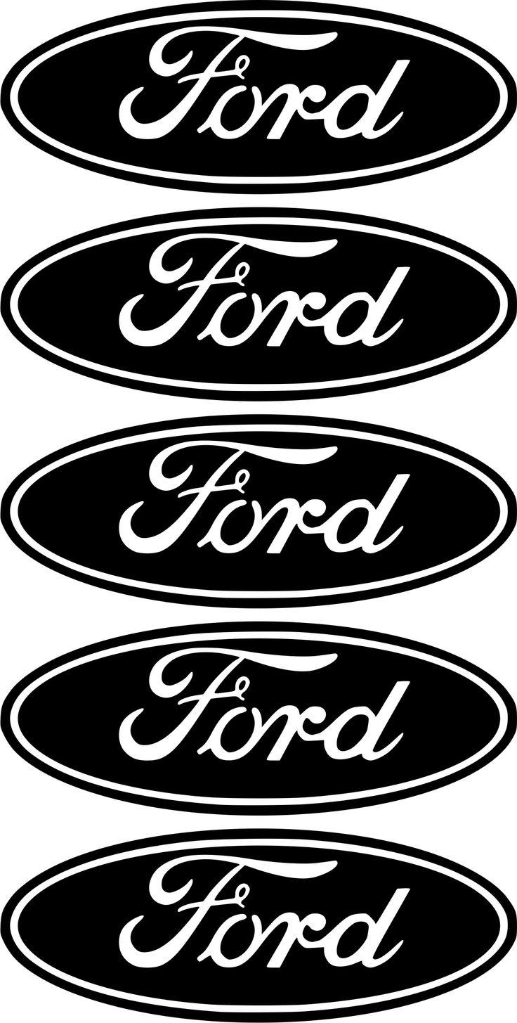 5 x ford logo sticker decal badge bumper ford logo logo