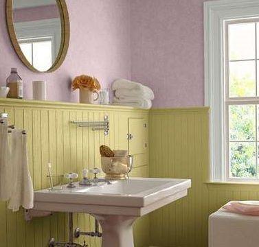 Pastel Bathroom Paint