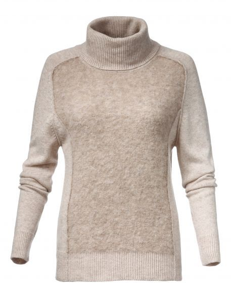 Пуловер с воротником-стойкой Madeleine от 11290руб. руб. Цвет светло-темно-серый-меланж купить с доставкой.