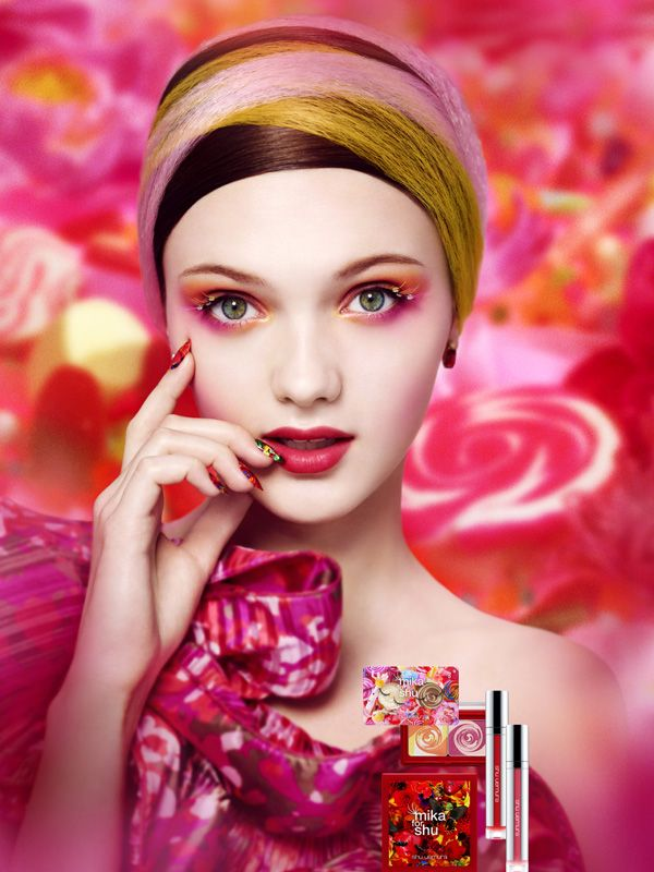 First look at the Mika Ninagawa for Shu Uemura makeup and skincare collection, coming in April! http://beautyeditor.ca/2014/01/16/mika-ninagawa-shu-uemura-summer-2014/