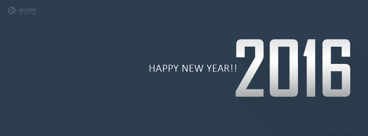 A beautiful new year wish - New Year Facebook Cover Photo 2016 #newyear #newyear2016 #facebook