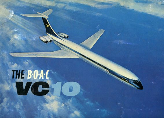 BOAC VC 10 Service Brochure