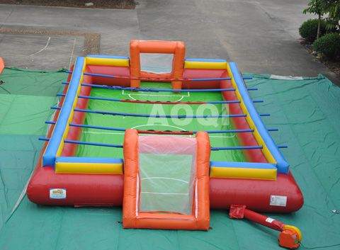Inflatable football game,inflatable games for kids, China games for sale