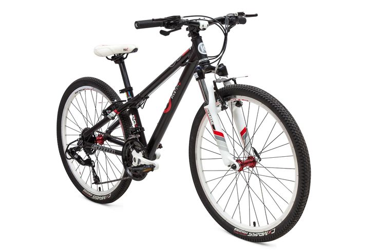 E510MTB Kids Mountain Bike from ByK. For kids aged 7 to 11 years, 130 to 160cms tall.  The best mountain bike for the fun and adventurous kid.