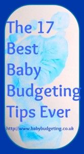 The Best Baby Budgeting Tips I Was Ever Given | Baby Budgeting