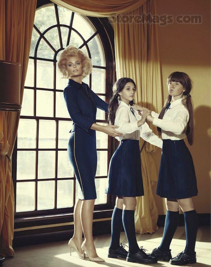 navy skirts and white blouses for dancing lesson