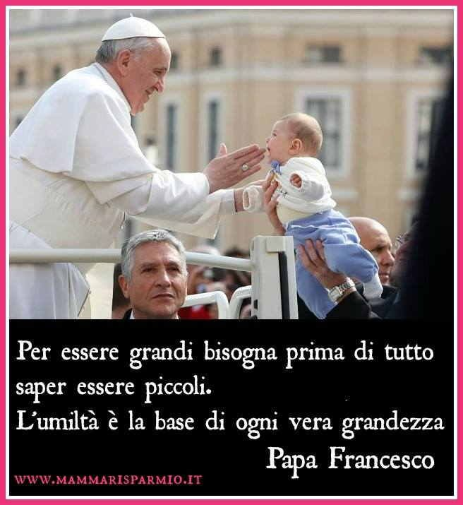 Papa Francesco and children