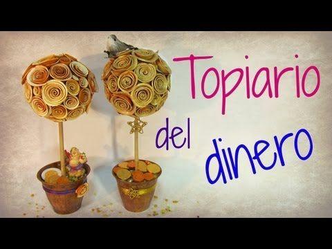 Cómo hacer un topiario de la abundancia. Abundance topiary. - YouTube