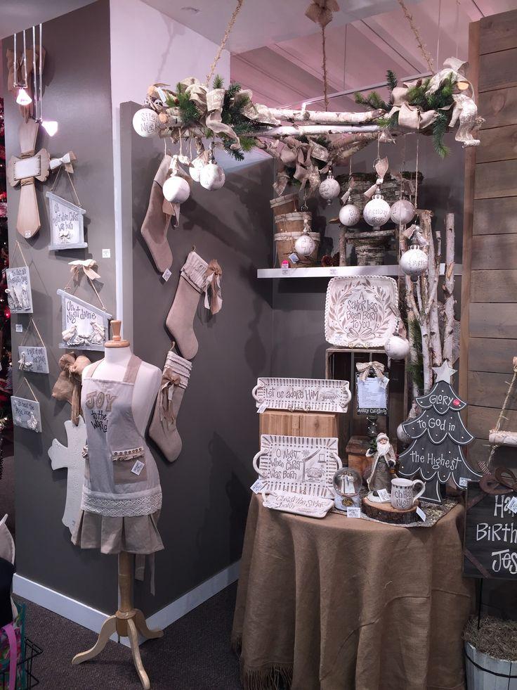 Christmas Display from our Atlanta Showroom at the Dallas Market Center - Winter 2016! #burtonandburton