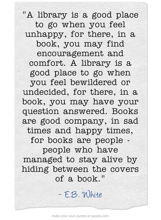 """.. books are people - people who have managed to stay alive by hiding between the covers of a book.""  (*huge grin on my face!*) i <3 books"