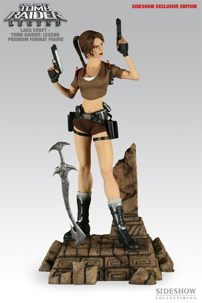 Sideshow Collectibles - Tomb Raider - Lara Croft