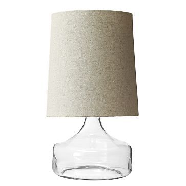 Perch Table Lamp   Clear #westelm