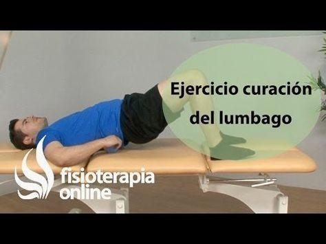 M Ejercicio de flexibilización de la columna lumbar para el lumbago o lumbalgia…