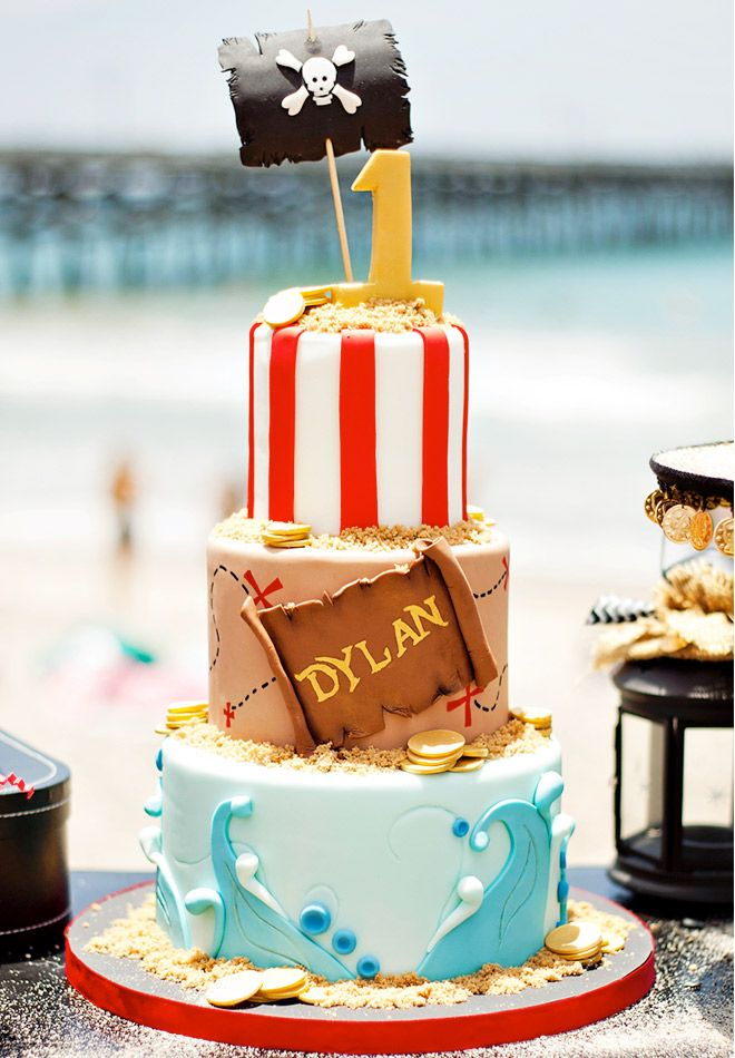 Birthday Cakes for Boys: Pirate Cake via Hostess with the Mostess | Mum's Grapevine
