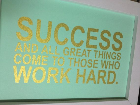 Success comes to those who dare and act.