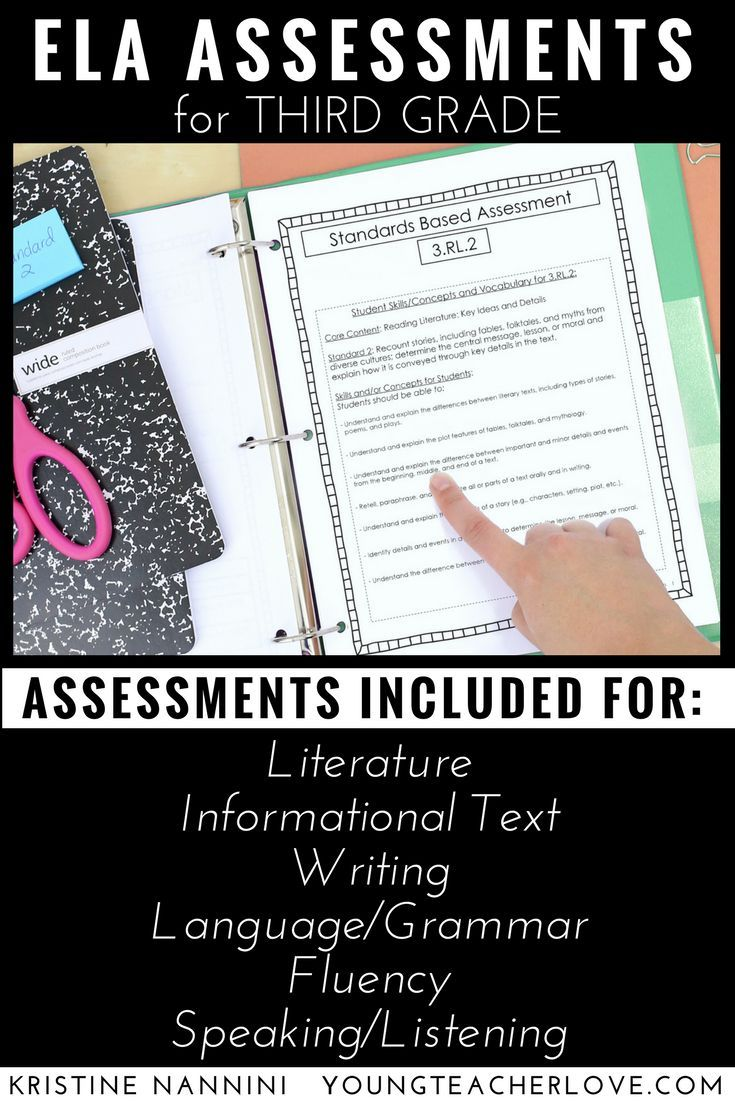 photograph regarding 3rd Grade Language Arts Assessment Printable titled 3rd Quality ELA Opinions - Reading through Understanding - Grammar