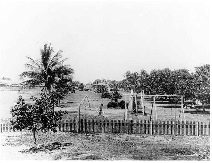 Children's  playground The Strand  TOWNSVILLE 1924