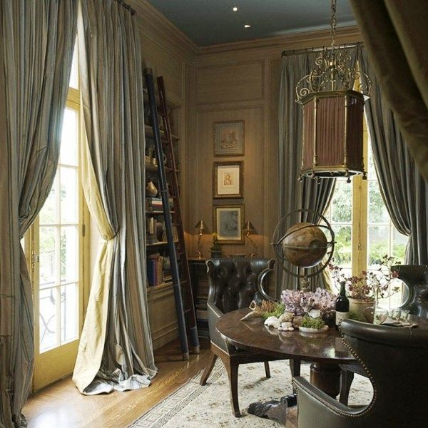 Victorian Home Decor. With More Bookshelves And A Piano, This Would Be My  Dream