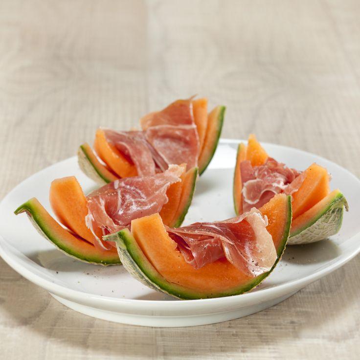 Melon med parmaskinke