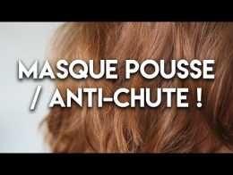 Masque pousse & anti-chute des cheveux !