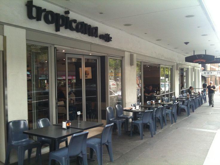 Cafes in Sydney – Tropicana Caffe. Hg2Sydney.com.