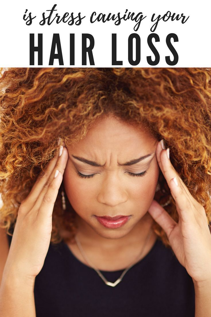 Is Stress Causing Your Hair Loss Hairfinity Hair Loss Natural Remedy Hair Loss Hair Loss Remedies