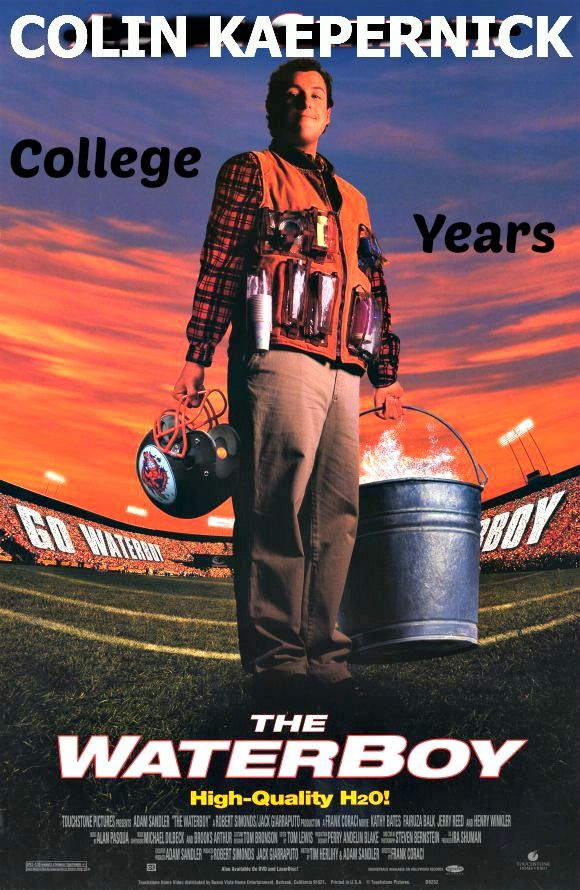 Colin Kaepernick College Years San Francisco 49ers Waterboy Funny Movies Adam Sandler Movies