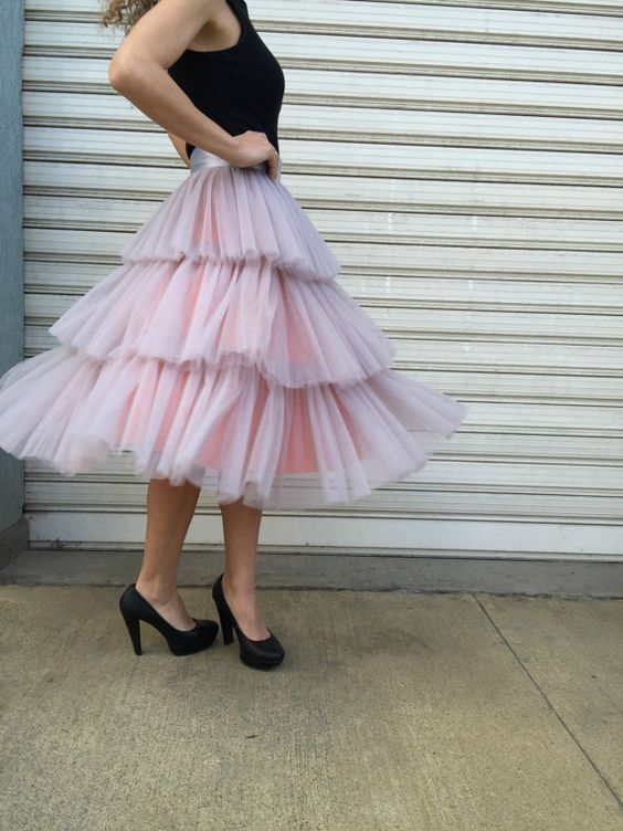 Women Lady Party Prom Tulle Princess Tutu Ball Gown Bespoke Hot Sale Skirts