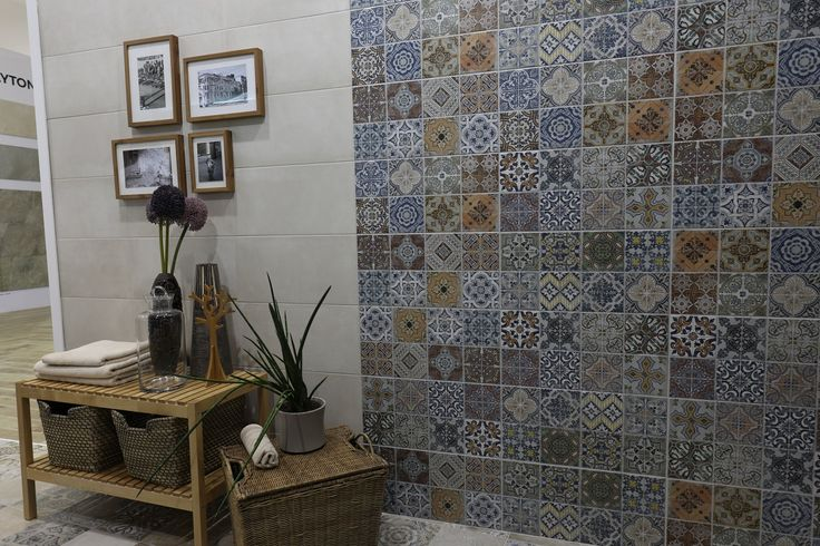 STN Ceramica present patchwork collection (Tours collection)
