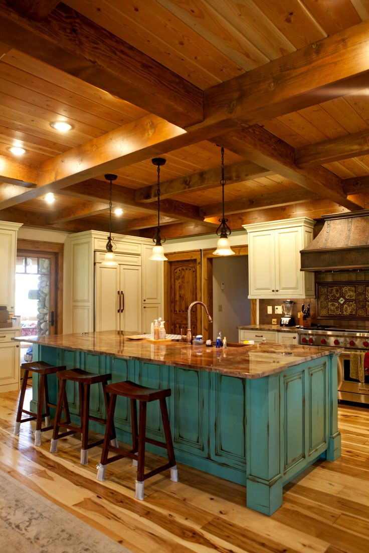 Best 25 log home kitchens ideas on pinterest log cabin Cabin kitchen decor