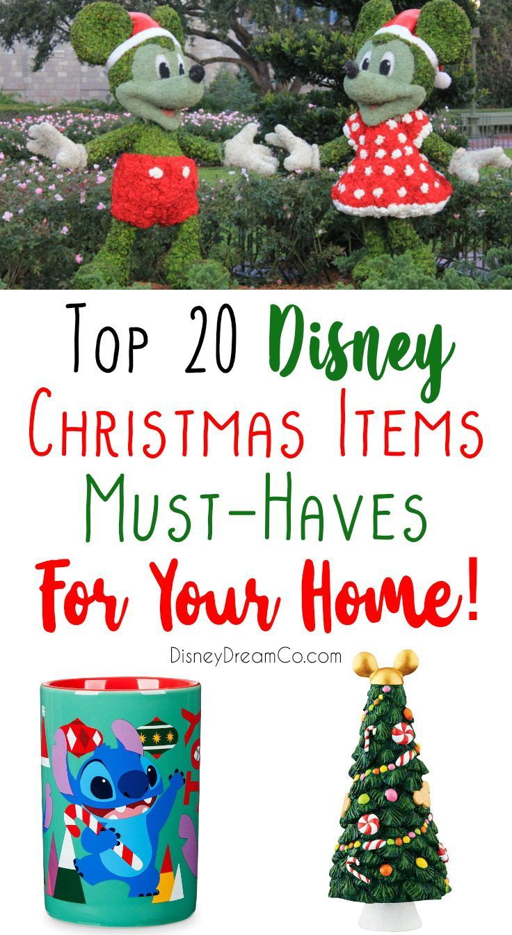 Top Disney Must Have Christmas Items Disney Christmas Decorations In 2020 Disney Christmas Decorations Disney Christmas Disney Christmas Tree