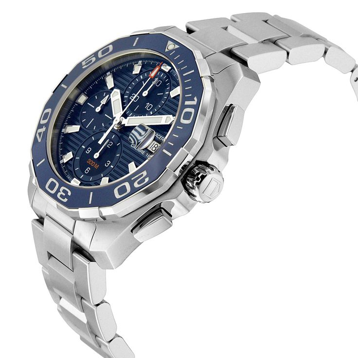 Tag Heuer Aquaracer Blue Dial Chronograph Automatic Men's Watch CAY211B.BA0927 - Aquaracer - Tag Heuer - Watches - Jomashop