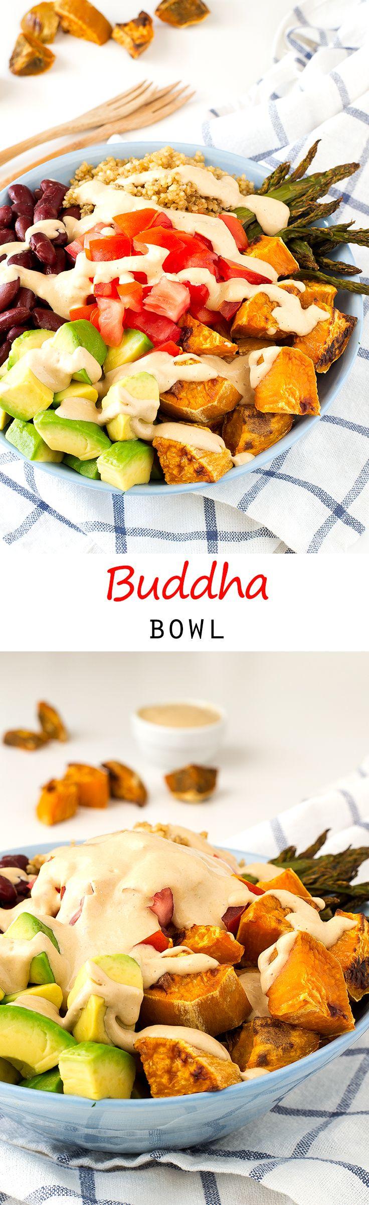 Buddha Bowl   simpleveganblog.com #vegan #glutenfree
