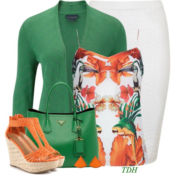 Printed Cami by talvadh on Polyvore featuring polyvore, fashion, style, Viyella…