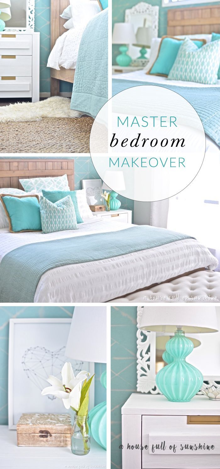 Master bedroom holly springs ga shabby chic style bedroom - My Goodness This Bedroom Makeover Is Dreamy So Many Pretty Details A