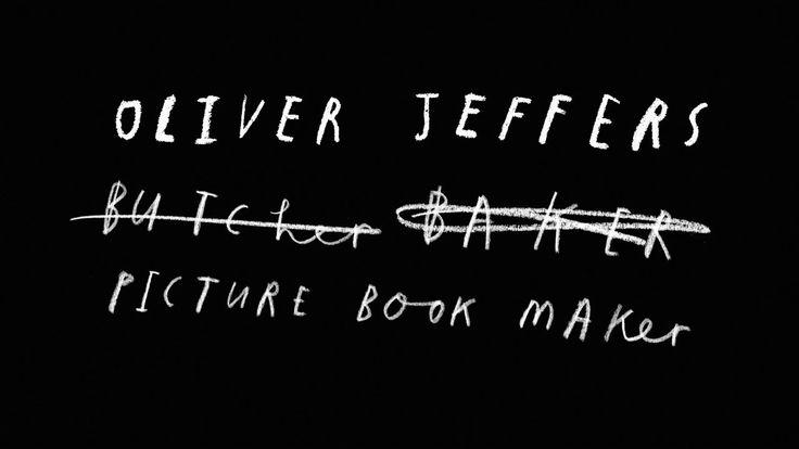 Oliver Jeffers Author Film 2013 on Vimeo