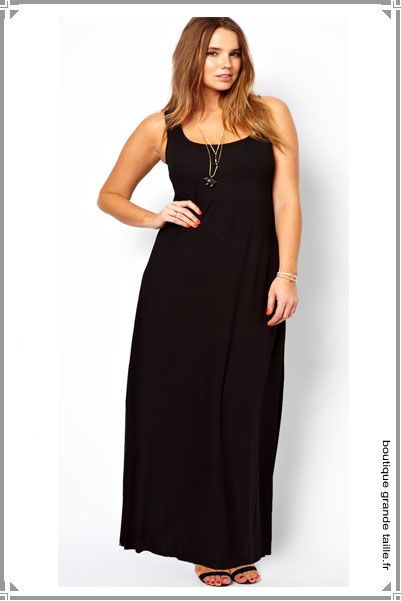8 best images about robe longue grande taille on pinterest With robe longue grande occasion