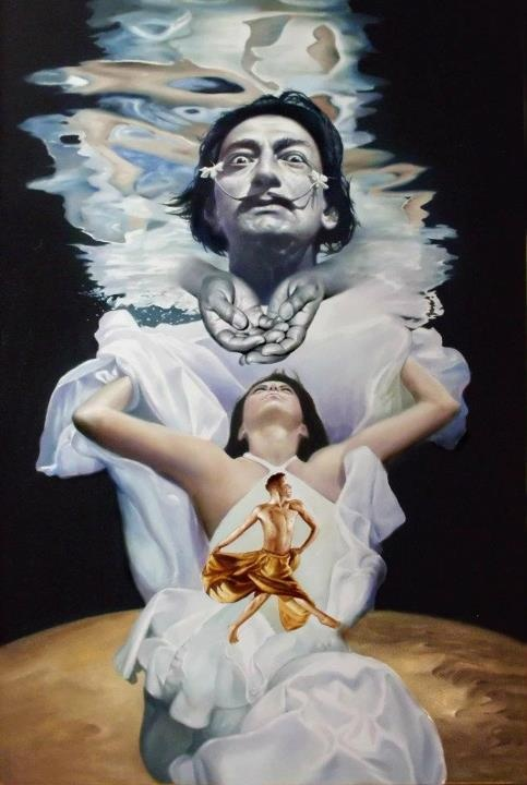 salvador dali from realist to surrealist The spanish-born artist salvador dalí was officially allied with surrealism from   the super-saturated color and painstaking realism of the rest of the composition,.