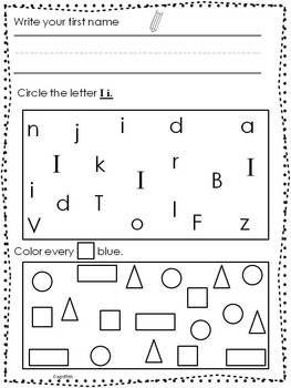 17+ images about Kinder Morning Work on Pinterest   Kindergarten ...
