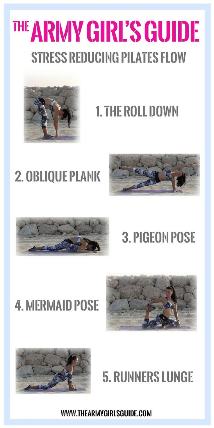 My 5 top moves to relieve tension, get blood pumping around the body and get yourself feeling good again! A Pilates/Ypga Flow to reduce stress, stretch and calm – The Army Girl's Guide