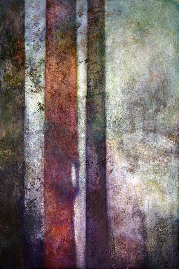 """The secret garden"" Oil on canvas - 120x80 cm"
