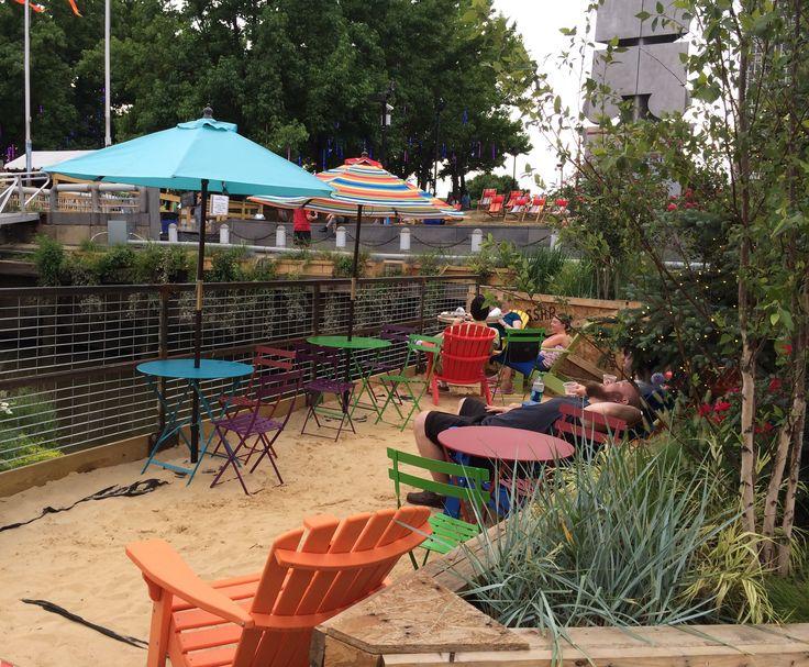Harbor Park. Our local Paris Plage.....