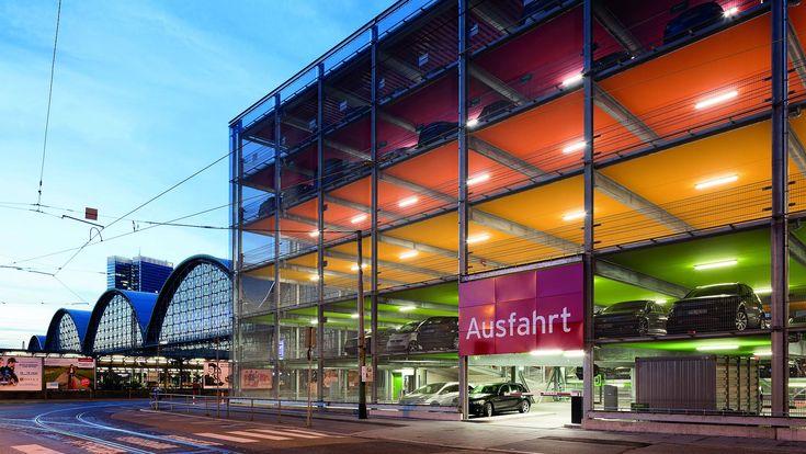 Parkhaus Frankfurt Bahnhof