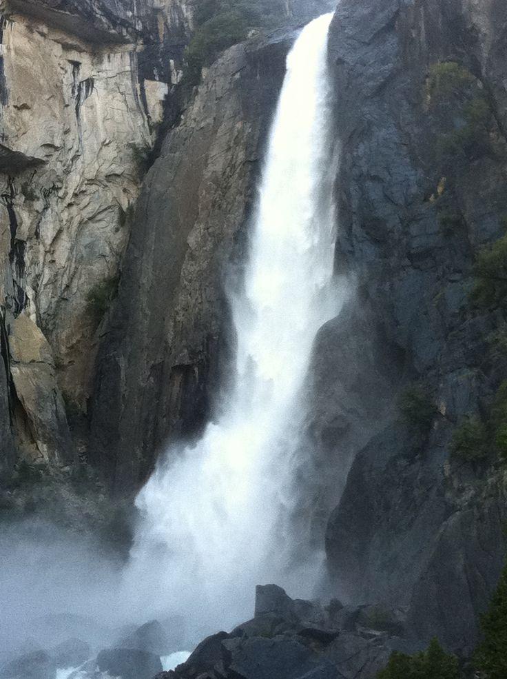 Yosemite Lower Yosemite Falls in summer Yosemite