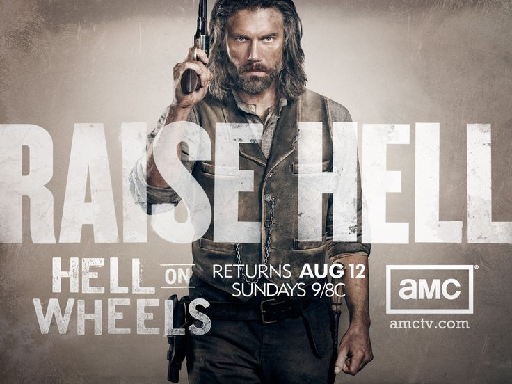Hell On Wheels on AMC