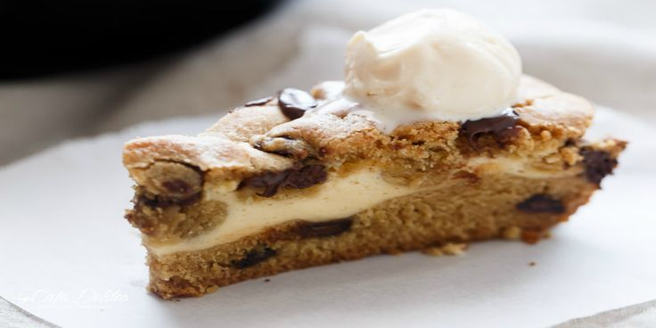 So delicious and decadent,this combination of skillet cake stuffed with…
