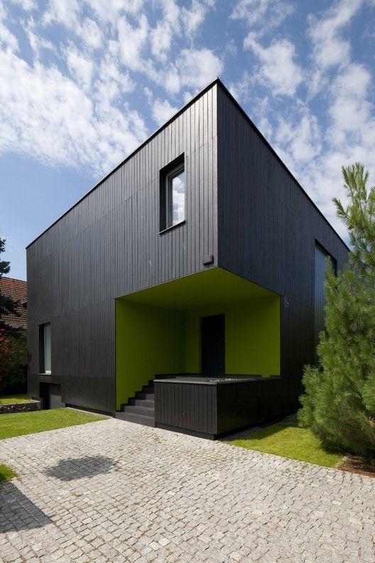 Black Cube House,© Tomasz Zakrzewski