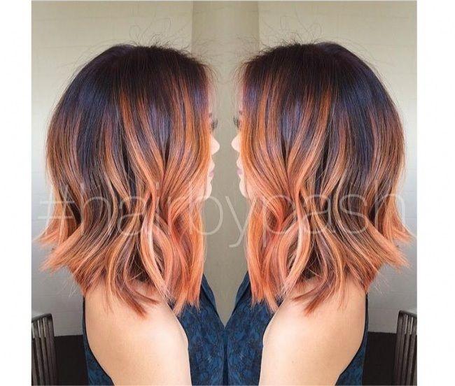 Extrêmement Les 25 meilleures idées de la catégorie Cheveux bruns cuivrés sur  FE99