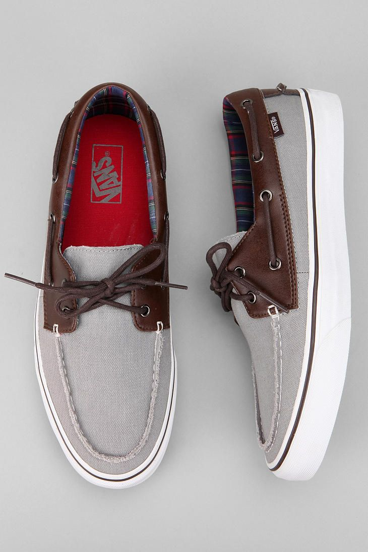 A touch of leather. #urbanoutfitters #vans