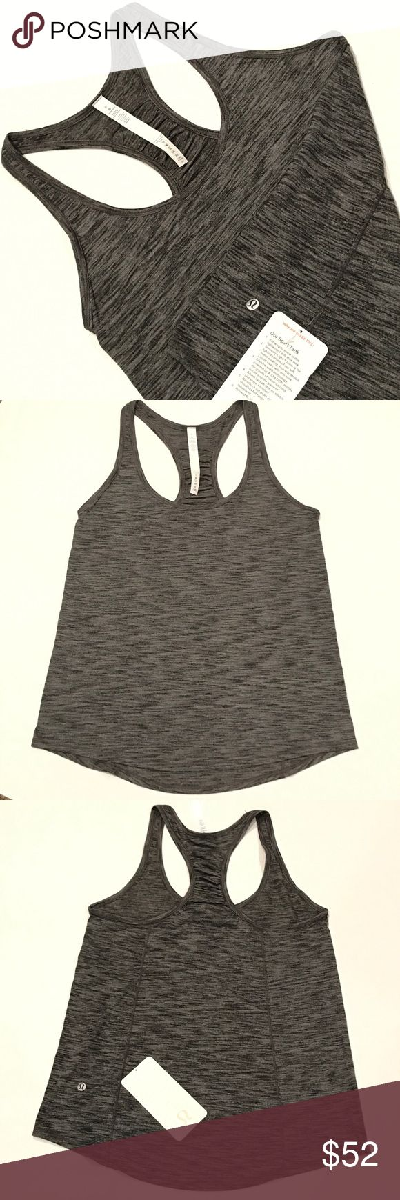 NWT Lululemon Our Sport Tank - Size 6 NWT Lululemon Our Sport Tank - Size 6 Heathered Gray. Fabric: Seriously Light™ Luon SOLD OUT ONLINE. PRICE FIRM! lululemon athletica Tops Tank Tops